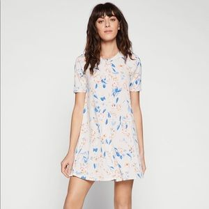 BGBGeneration Spring Floral T-Shirt Dress Tapioca